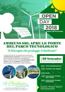 Open DAY - 29 Settembre 2018