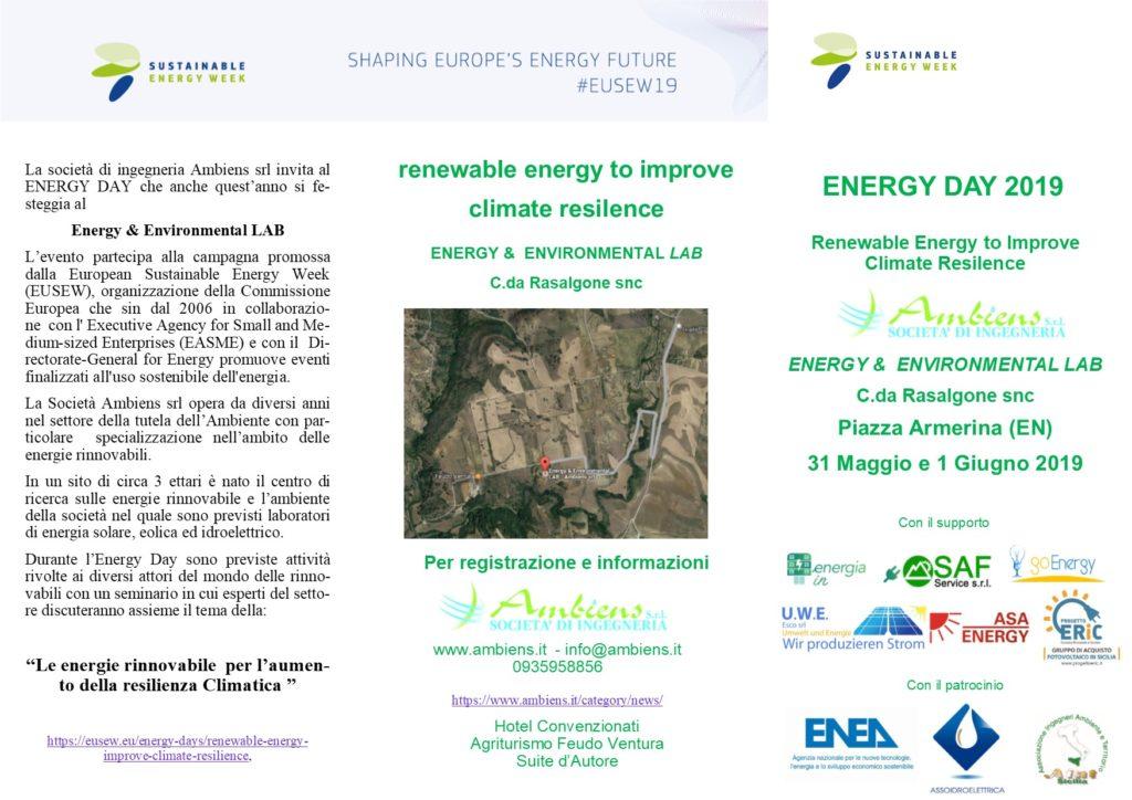 Energy Day 2019